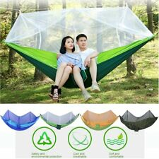 260x130cm Outdoor Camping Sleeping Hammock Hanging Bed Tent With Mosquito Net IK