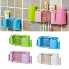 Multifunctional Toothpaste and Toothbrush Holder Creative Organizer Box BS