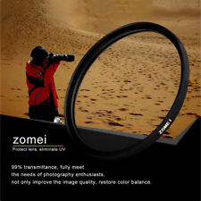 Zomei 40.5/49/52/55/58/62/67/72/77/82mm Camera MCUV Filter Protecting Lens LK