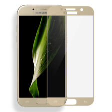 Edge Full Cover Tempered Glass Film Screen Guard Protector For Samsung Phones