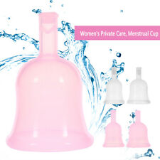 2 Colors S L Reusable Lady Silicone Menstrual Cup Period Soft Medical Cups bt