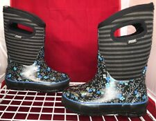 BOGS Classic High Waterproof Insulated Boots (rated -30°F) Kids Size 10 (EU 26)