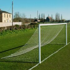 Heavy-Duty Straight Back Soccer Goal Nets - Single or Pair Of Nets In Many Sizes