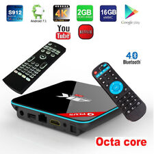 Q+ QBox Plus 4K 3D Octa-Core Android 7.1 TV Box Set+Air Mouse Wireless Keyboard