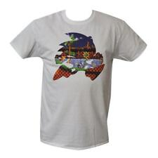 T Shirt Sonic the Hedgehog MENS WHITE ALL SIZES S TO 3XL Sega Mega Drive Tails