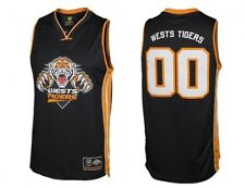 Wests Tigers NRL Classic NBA Style Basketball Jersey/Top