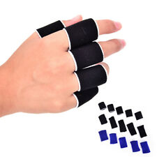 Breathable Stretchy Finger Protector Sleeve bandage Support Arthritis Sports @