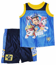 Baby Boys Paw Patrol Tank Top Shorts Sports Outfit 2-Piece Set