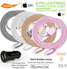 SHORT 3.3ft USB Lightning Charger Cable For Apple iPhone x/10/8/7/6/6s Plus/5/5s
