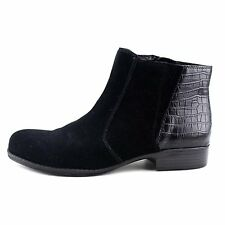Naturalizer Womens Jump Leather Closed Toe Ankle Fashion Boots