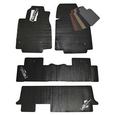 Honda Odyssey All Weather Rubber Floor Mats - 2005 - 2016 - Custom Fit Mats