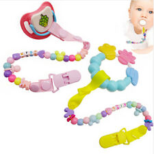 Pacifier Clips Chain Dummy Clip Pacifier Holder Clip Nipple Holder Soother Chain