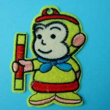 Monkey Cartoon Animal Iron on Sew Patch Applique Badge Embroidered Biker Motif