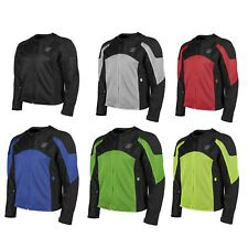 Speed and Strength Midnight Express Mesh Mens Street Riding Motorcycle Jacket
