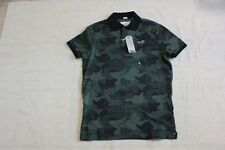 NWT Hollister by Abercrombie men Stretch Pique Polo shirt M, L, XL Green Camo