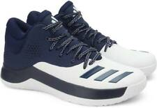 adidas Court Fury Navy/White Men Basketball Shoes Sneakers