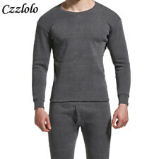 Winter Men Long Johns Thicken Mens Thermal Underwear Sets Warm Underwear Pants