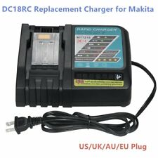 14.4V-18V 3A Li-ion Battery Charger Replacement for Makita DC18RC DC18RA Lot LS