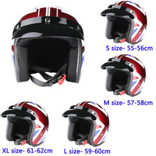 DOT Open Face Motorbike Helmet Motorcycle Scooter Motorcycle Helmet Full Size
