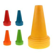 5pcs Safety and Security Cones Soccer Training Cones PE Traffic Cones 14.5""