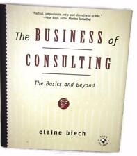 "The BUSINESS of CONSULTING Basics Book Elaine Biech 3.5"" Floppy Disc Unused  BO3"