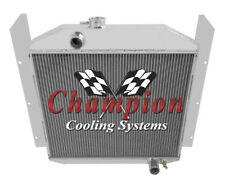 Champion Cooling  3 Row All Aluminum Replacement Radiator, CC4952 (Fits: Studebaker)