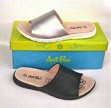 Comfort leather Stylish slides - Just Bee Shoes - Calimo