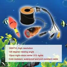 Underwater HD Fishing Video Camera 1000TVL Fishfinder Fish Detector 15m/30m H3I1