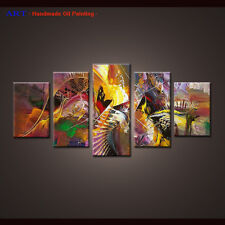Framed Large Wall Art Handmade Canvas Abstract Oil Painting Modern Home Decor 36