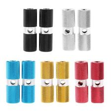 2 x Aluminium Alloy Pegs Bike Bicycle Cycling Foot Pegs for 3/8 inch Axle