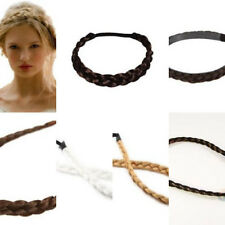 Soft Extensions Stretchy Braided Faux Hair Plaits Hairband For Girls