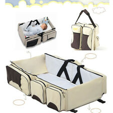 Bassinet Nappy Portable Bag Foldable Crib Baby Bed 2in1 Mummy Changing Diaper