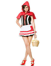 NWT SEXY LITTLE RED RIDING HOOD Halloween Fantasy Cosplay Costume