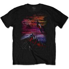 OFFICIAL LICENSED - PINK FLOYD - THE WALL FLAG & HAMMERS T SHIRT ROCK GILMOUR