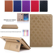 Magnetic Smart Folio Leather Wallet Stand Case Cover For iPad Mini Air 2 Pro 9.7