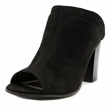 Madden Girl Womens Norma Suede Open Toe Mules