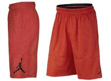 Nike Air Jordan Ele Print Dri-Fit Basketball Shorts Max Orange Men's Small XL