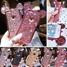For Samsung Galaxy S7 Cute Bling Rubber Case Soft TPU Hybrid Silicone Back Cover