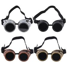 New Cyber Goggles Steampunk Glasses Vintage Welding Punk Gothic Victorian  QN