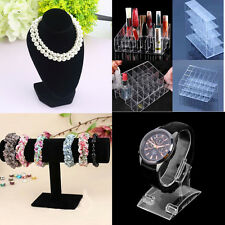 4type Mannequin Necklace Jewelry Pendant Display Stand Holder Show Decorate EN