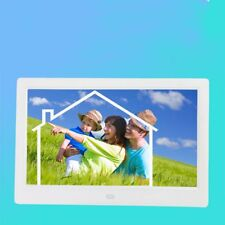10'' HD TFT-LCD Digital Photo Picture Frame Music Video Player Decor US Plug