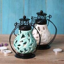 Chinese Style Ceramic Candlestick Candle Holder Stand Home Party Ornament Decor