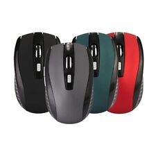 2.4GHZ Wireless Mouse Matte Cordless Optical Scroll Mice USB For PC Laptop