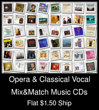 Opera & Classical Vocal(3) - Mix&Match Music CDs U Pick *NO CASE DISC ONLY*