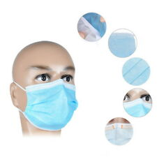 50 X  Disposable Medical Dustproof Surgical Face Mouth Masks Ear Loop New RJ