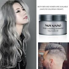 Men Women DIY Hair Color Wax Mud Dye Cream Temporary Modeling Mascara 7 Color RJ