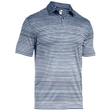 Under Armour Mens Trajectory Stripe Polo Shirt New T-Shirt Heatgear Coolswitch