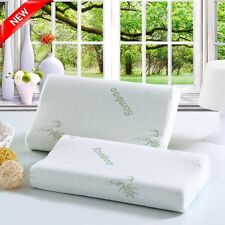 Bamboo Contour Memory Foam Pillow Bed Pillow Sleep Innovations US &@