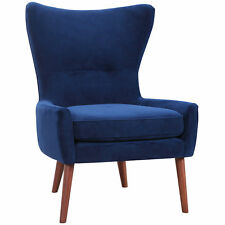 NEW Luna Velvet Wing Back Chair Dodicci Living Room Chairs