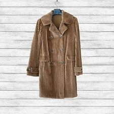 Furs2Love™ 1372 - *Whiskey Dyed Sheared Grooved Mink 3/4 Coat*